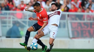Independiente igualó con Lanús en Avellaneda
