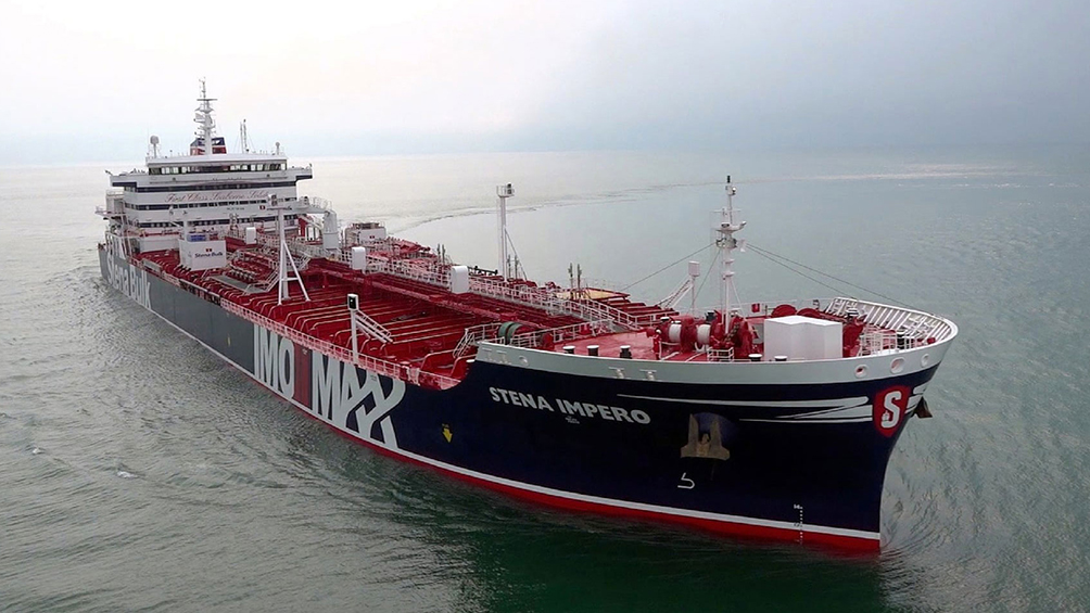 Petrolero británico fue liberado tras estar más de dos meses retenido