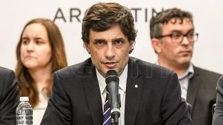 El ministro Lacunza, en Diiputados