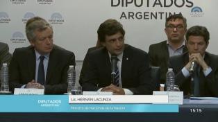 """Lacunza llamó a """"construir consensos"""" en política económica, al presentar el Presupuesto 2020"""