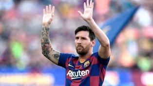 Con un gol de Messi, Barcelona goleó al Eibar