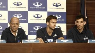 Parte del seleccionado argentino subcampeón mundial regresó al país