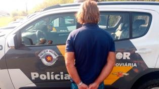 Puccio recibió prisión preventiva y fue llevado a una cárcel común en San Pablo