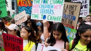 """La """"huelga del clima"""" movilizó a millones de adolescentes en más de 150 países"""