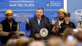 """Macri: """"Queremos para todos más trabajo, porque es mejor calidad de vida y oportunidades"""""""