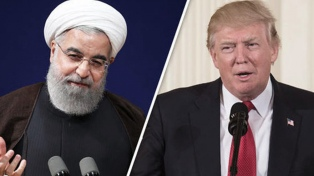 Trump dice que no tiene intención de reunirse con Rohani en la ONU