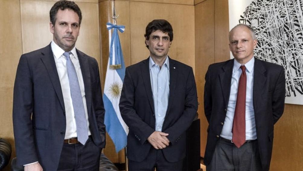 Lacunza y Sandleris se reúnen con el FMI en busca del desembolso de US$ 5.400 millones