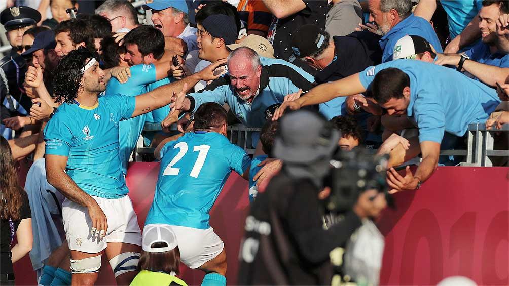 Uruguay logró el triunfo más resonante de su historia ante Fiyi