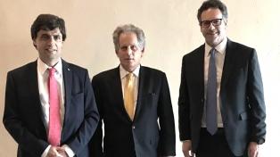 Lacunza almuerza con Werner y Cardarelli, responsables en el FMI del caso argentino