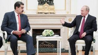 El Kremlin le pidió a la oposición que dialogue con Maduro
