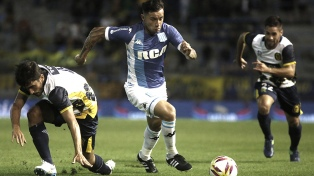 Rosario Central y Racing empataron en el Gigante de Arroyito