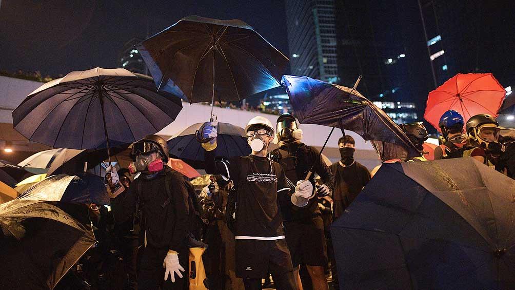 Una nueva noche de protestas paralizó la ciudad