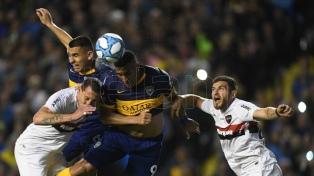 Boca empató con Newell's en la Bombonera