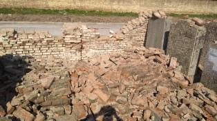 El cementerio de La Tablada sufrió un ataque vandálico en vísperas del Año Nuevo judío