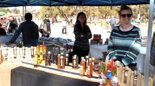 Cientos de personas disfrutaron de productos andinos de seis provincias en una Feria en El Rosedal