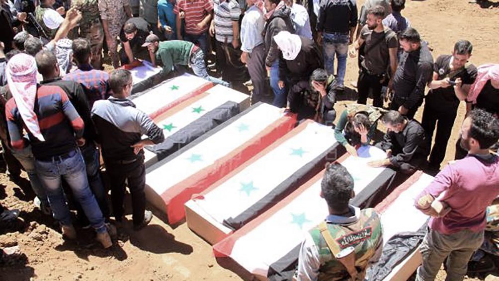 Más de 8.200 civiles muertos en cuatro años de campaña de Rusia en Siria, según ONG