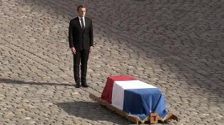 Con honores de Estado, despidieron al ex presidente Jacques Chirac