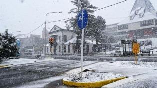 Ushuaia termina septiembre con nevadas y casi -7 grados de sensación térmica