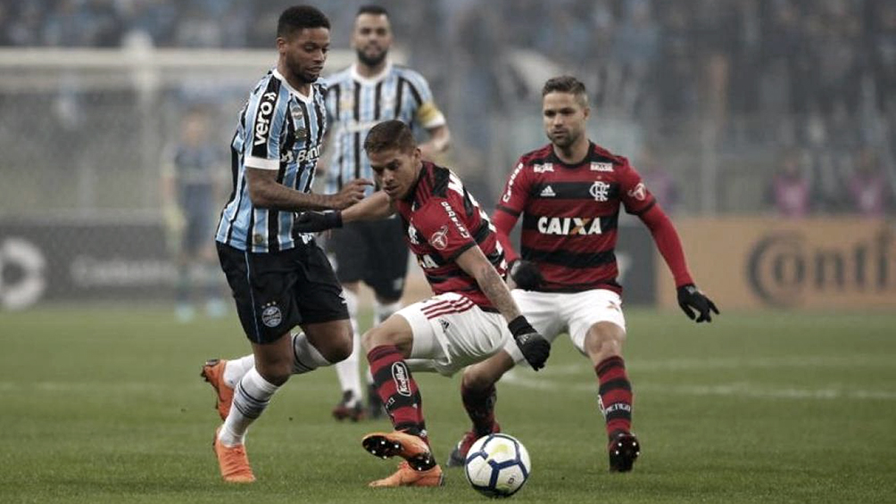Gremio y Flamengo animan la otra semifinal en Porto Alegre