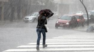 Tormentas y una máxima de 15 grados en la Ciudad de Buenos Aires y alrededores