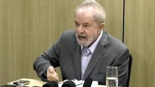 Lula rechazó el derecho a cumplir la prisión en su domicilio