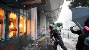 Un herido de bala en nuevas manifestaciones de protesta