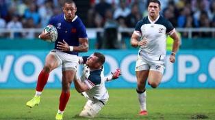 Francia venció a Estados Unidos con punto bonus en el grupo de Argentina