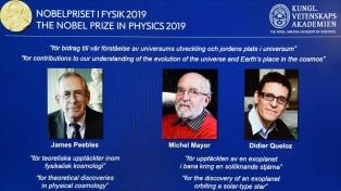 El Nobel de Física fue para tres astrofísicos por sus trabajos sobre la evolución del universo