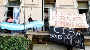 Seis detenidos por el desalojo de 30 familias en el barrio de Constitución