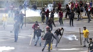"""La Argentina y otros seis países de la región expresaron su """"firme respaldo"""" al gobierno ecuatoriano"""