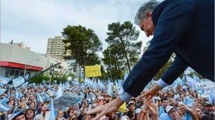 """Macri pidió """"una votación que exprese el amor que tenemos por nuestro país"""""""