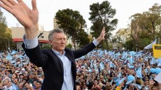 """Macri: """"Se recuperaron valores importantes, vamos a poder resolver la economía"""""""