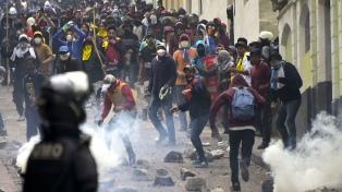 Confirman la muerte de un manifestante en las protestas contra el ajuste
