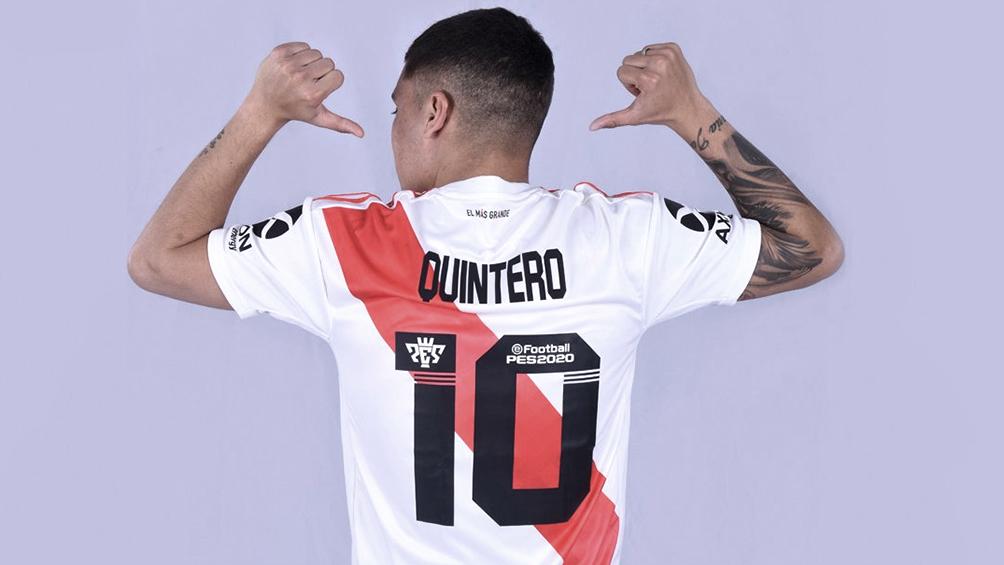 Juanfer Quintero tuvo una molestia y está en duda para la semifinal de la Copa Argentina