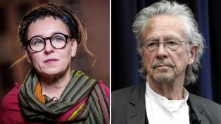 Olga Tokarczuk y Peter Handke, los ganadores del doble Nobel literario tras el escándalo