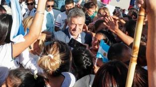 """Macri prometió que """"en el futuro, el foco va a estar en el alivio"""""""