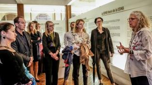Delegados culturales de la Unión Europea visitaron el Museo Sitio de Memoria ESMA