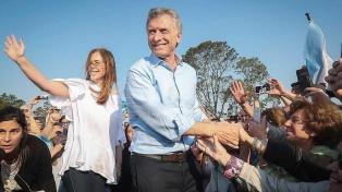 """Macri encabeza una nueva marcha del """"Si, se puede"""" junto a la gobernadora Vidal"""