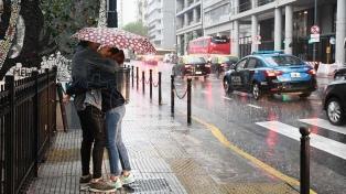 Viernes con lluvias y una máxima de 31 grados en la Ciudad de Buenos Aires