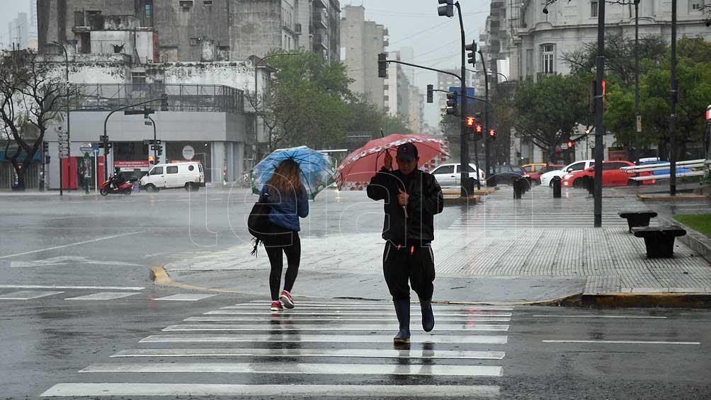 Alertas de tormentas en la Ciudad de Buenos Aires y centro del país