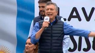"""Macri, en Paraná: """"No les digo desde un atril lo que deben pensar"""""""
