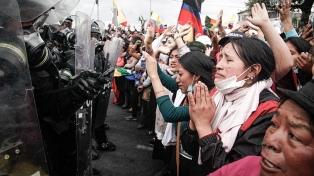 Críticas de Fernández y Cristina Kirchner por la situación de dirigentes correístas