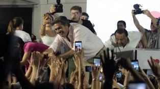 Capitanich fue electo gobernador de Chaco con amplia diferencia sobre sus opositores