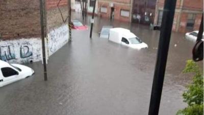 El gobierno envía ayuda a La Matanza para brindar asistencia por el fuerte temporal