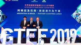 En China, la Argentina y Brasil promocionan sus destinos en forma conjunta