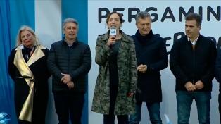 """Vidal, con Macri en Pergamino: """"Somos millones los que creemos en la honestidad y el trabajo"""""""