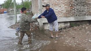 Más de 1.200 personas que estaban evacuadas volvieron a sus hogares en La Matanza