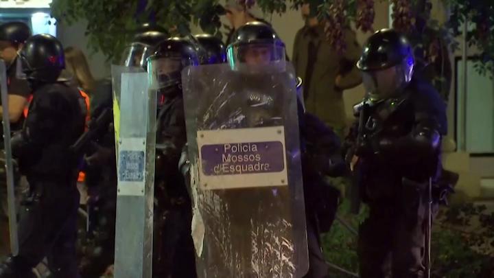 Domingo de múltiples protestas en Cataluña para pedir la libertad de los secesionistas presos