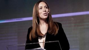 "Vidal destacó el ""lugar relevante"" de Cristina Kirchner"
