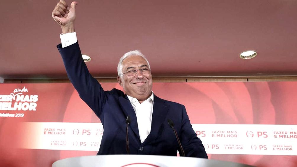 Antonio Costa (PS) gana las elecciones y continuará como primer ministro